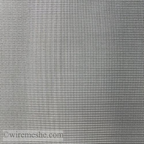 SS 304 Wire 24x110 Mesh Dia. 0.355x0.25mm Dutch Weave Wire Mesh