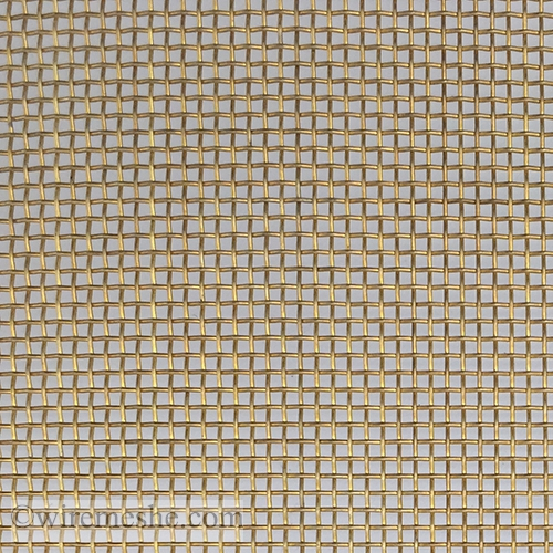 20 Mesh Wire Dia. 0.37mm Brass Wire Mesh